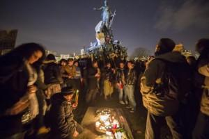 Manifestação contra o terrorismo reúne milhões na França e avança pela noiteEPA/Ian Langsdon/Agência Lusa/Direitos Reservados