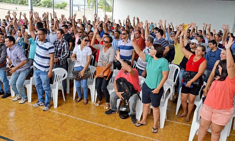 Foto 1 - Policiais Civis decidem pelo fim da greve da categoria - Foto Carlos Magno Secom