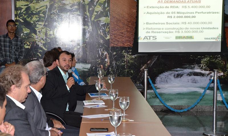 Sec. de Estado apresentam para Ministro - foto Tharson LOpes SECOM (15)