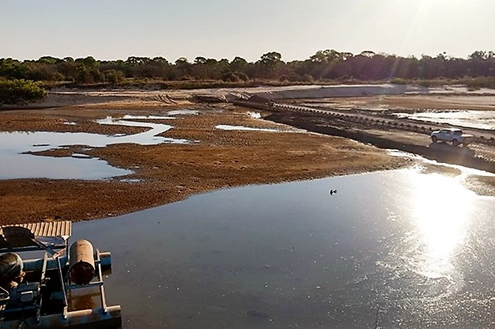 MPE ajuíza duas ações contra a captação irregular de água do Rio Formoso