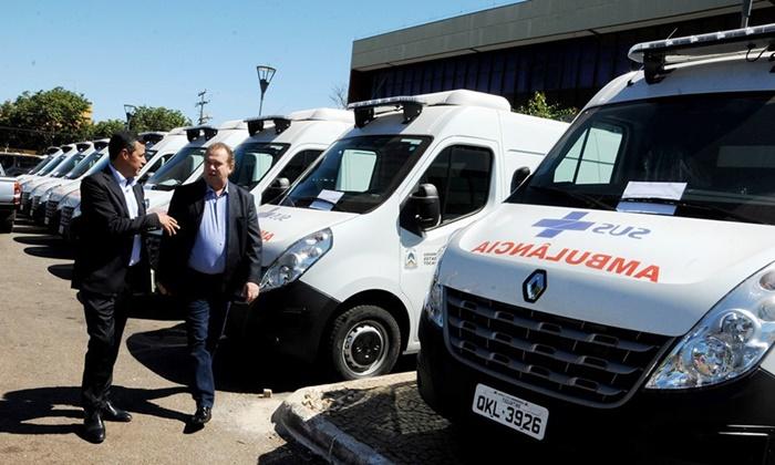 Governo faz vistoria em novas ambulâncias e visita institucional a órgãos