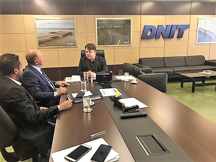 Lázaro Botelho solicita ao DNIT iluminação no trecho do Governo Federal que liga Palmas a Taquaralto