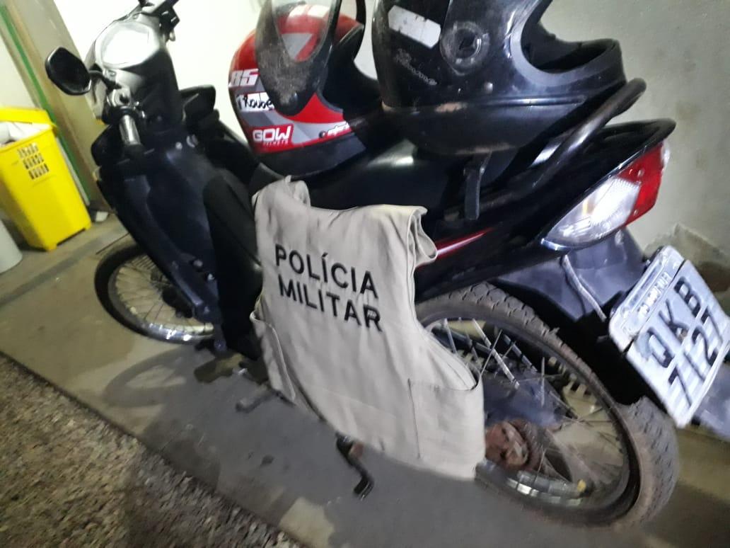 Suspeito de matar diarista em Gurupi é apreendido com motocicleta da vítima