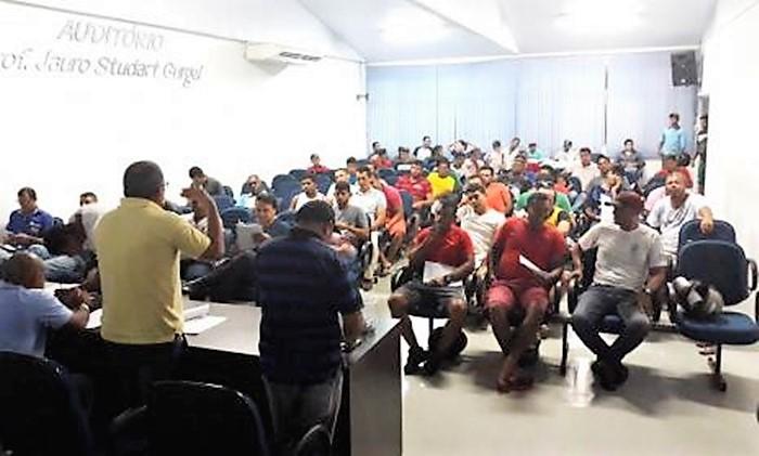 Diretoria de Esportes realiza Congresso Técnico da 4ª Copa Beira Cimba