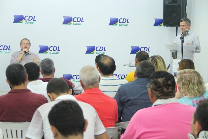 Ao empresariado de Gurupi Carlesse diz que vai desenvolver a economia para diminuir a dependência do emprego público
