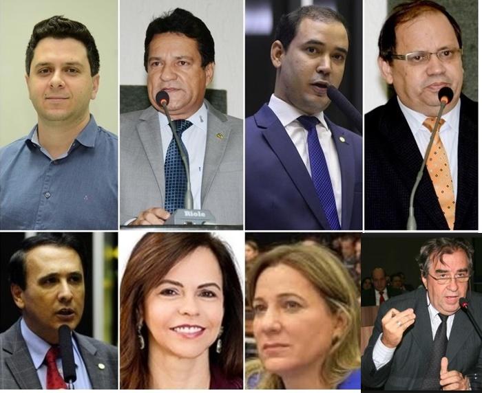 Veja como fica a bancada do Tocantins na Câmara dos Deputados