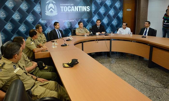 """""""Permanecemos unidos"""", dizem representantes das forças de segurança do Tocantins"""