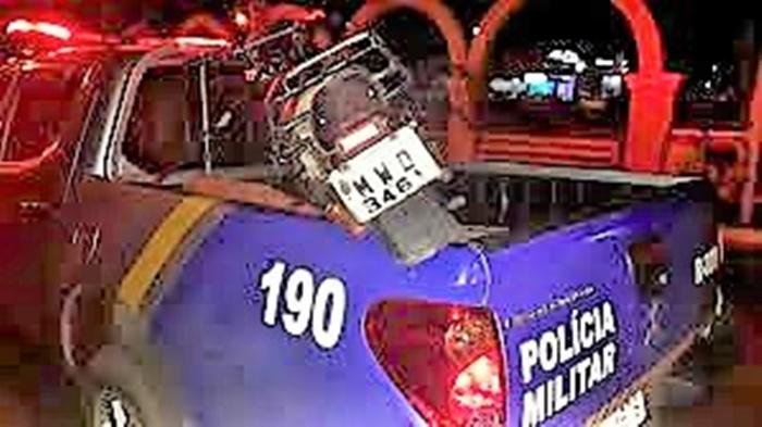 Dupla acusada de receptação é presa e veículo recuperado pela PM