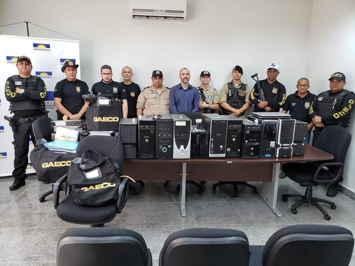 MPE faz operação por suspeita de fraudes em licitação na prefeitura de Peixe