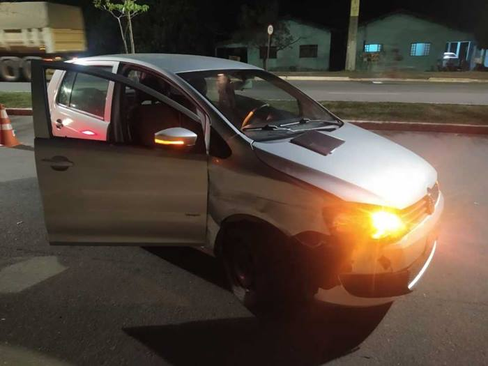 Homem embriagado é preso após se envolver em acidente de trânsito em Araguaína