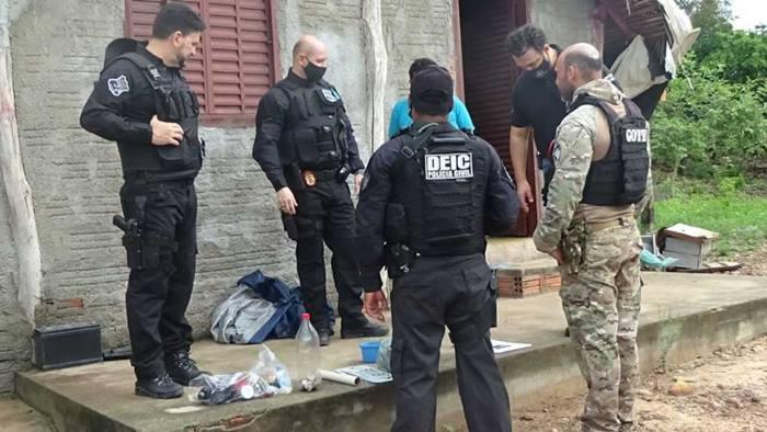 Operação Fortaleza da Polícia Civil do Tocantins resulta na prisão de 10 pessoas suspeitas por tráfico de drogas