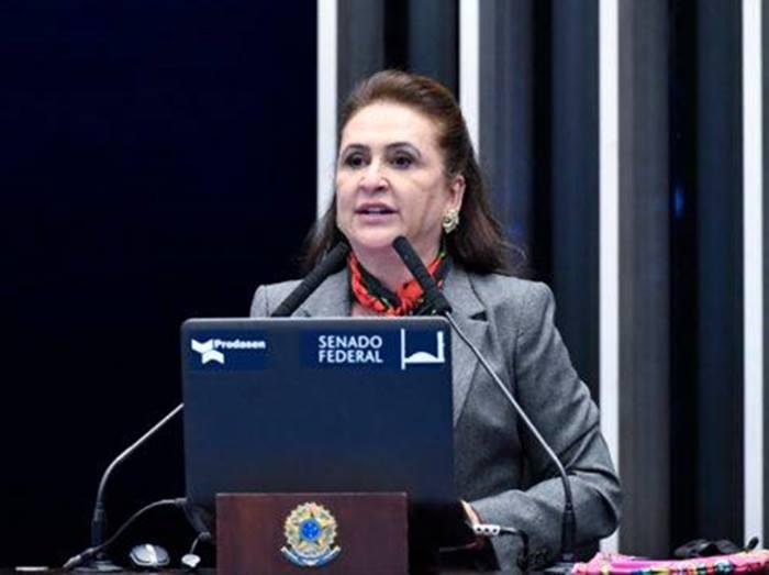 Senadora Kátia Abreu recebe alta após uma semana internada em SP para tratamento da Covid