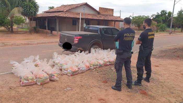 Polícia Federal faz operação para coibir compra de votos com cestas básicas em cidade do TO