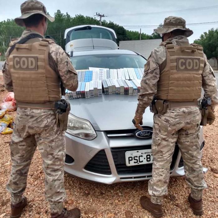 Polícia Militar apreende carga de cigarros sem nota fiscal na região norte do Estado