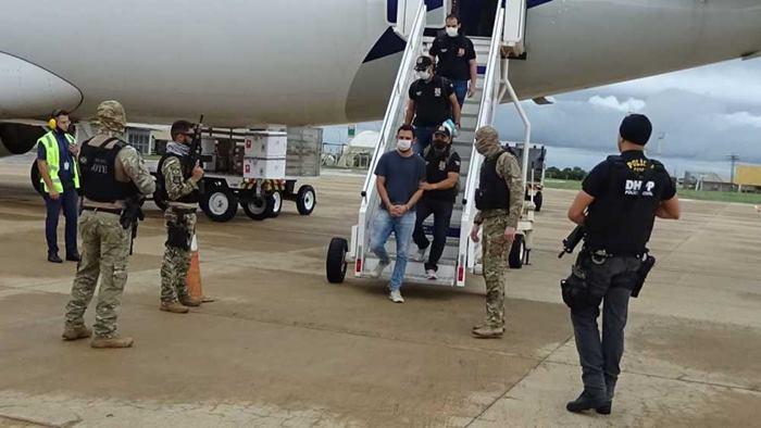 Polícia Civil do Tocantins faz recambiamento de ex-policial militar suspeito de executar advogado em Araguaína