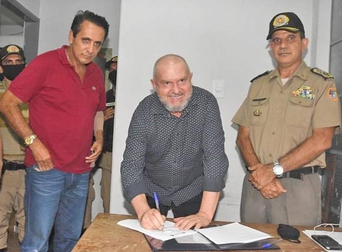 Governador Mauro Carlesse anuncia edital do concurso público da Polícia Militar do Tocantins