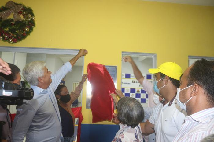 Prefeito Eduardo Madruga entrega mais uma obra para a comunidade de Wanderlândia