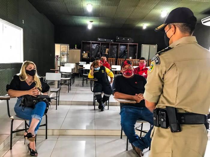 PM promove reunião com representantes de empresas delivery, em Araguaína