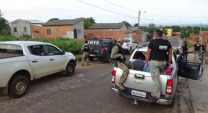 Polícia Civil deflagra 2ª fase da operação Leadership e prende vários suspeitos de tráfico de drogas em Araguaína