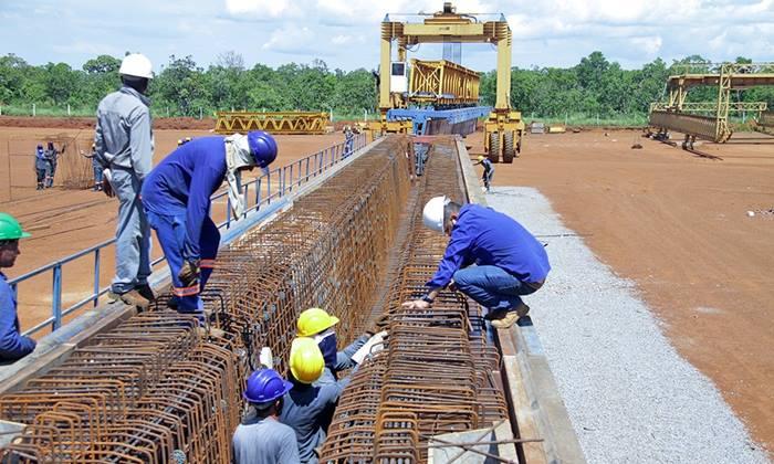 Governo do Tocantins inicia produção de vigas da nova ponte de Porto Nacional