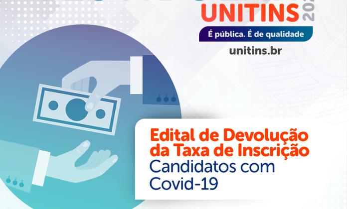 Unitins divulga edital para devolver taxa de inscrição para faltosos no vestibular isolados em virtude da Covid-19