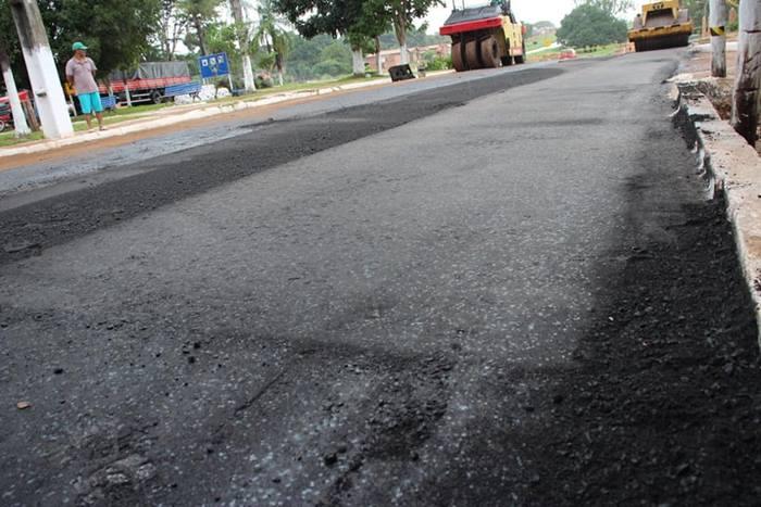 Prefeitura de Wanderlândia inicia pavimentação asfáltica da Avenida Bernardo Sayão