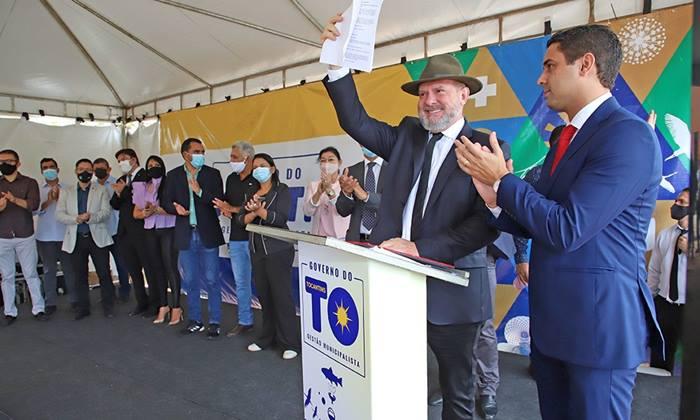 Governador Mauro Carlesse entrega nova sede para o Naturatins e promove abertura do sistema Sigam