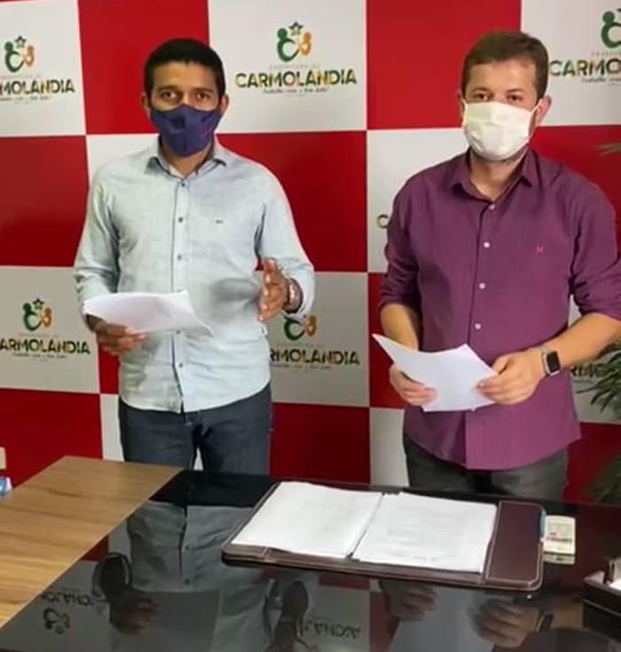 Prefeitura de Carmolândia publica novo decreto de combate a pandemia do coronavírus