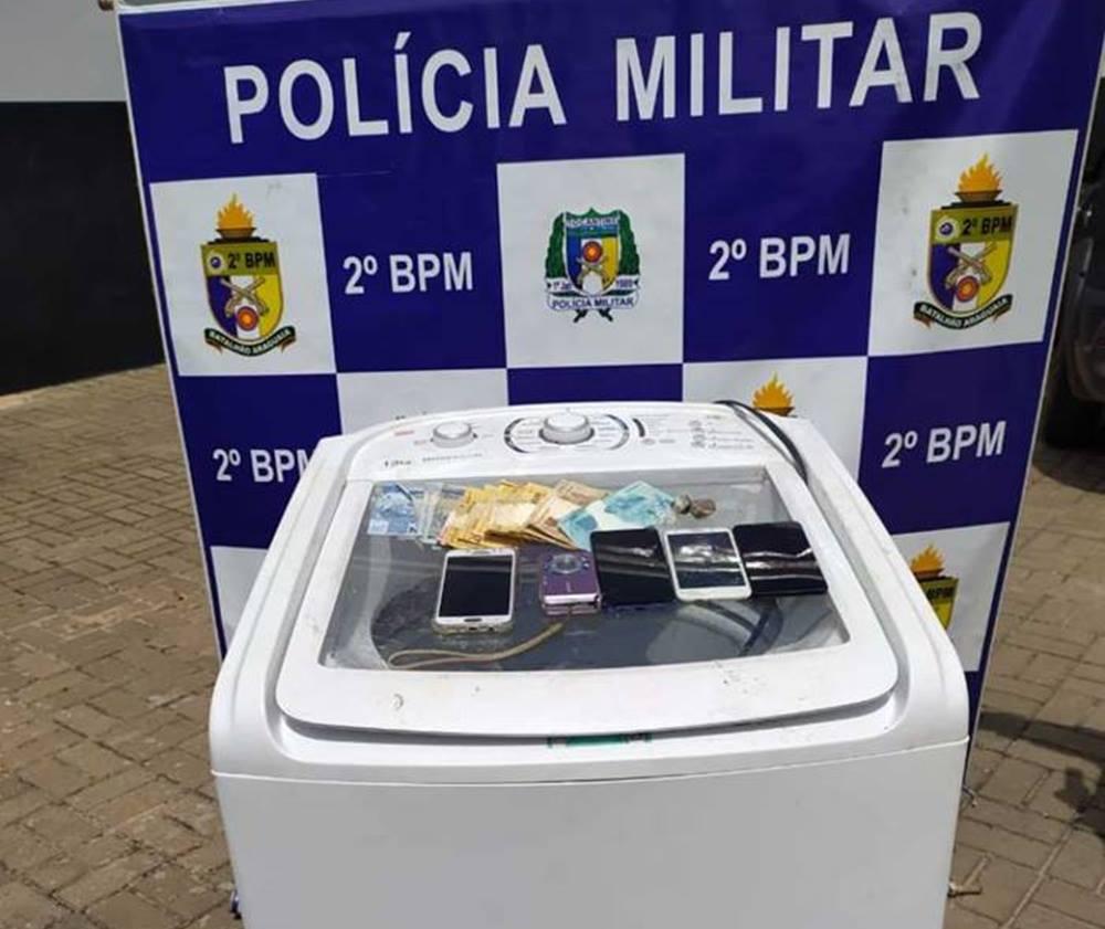 Homem é preso pela Polícia Militar por furto em Araguaína