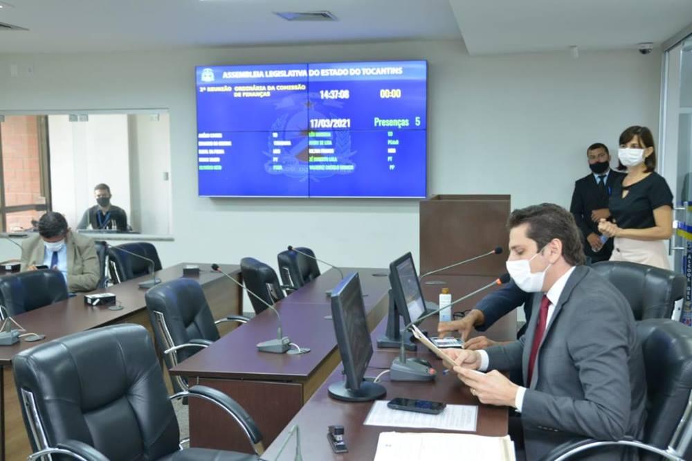 Comissões aprovam decretos de calamidade pública para as cidades de Guaraí e Gurupi