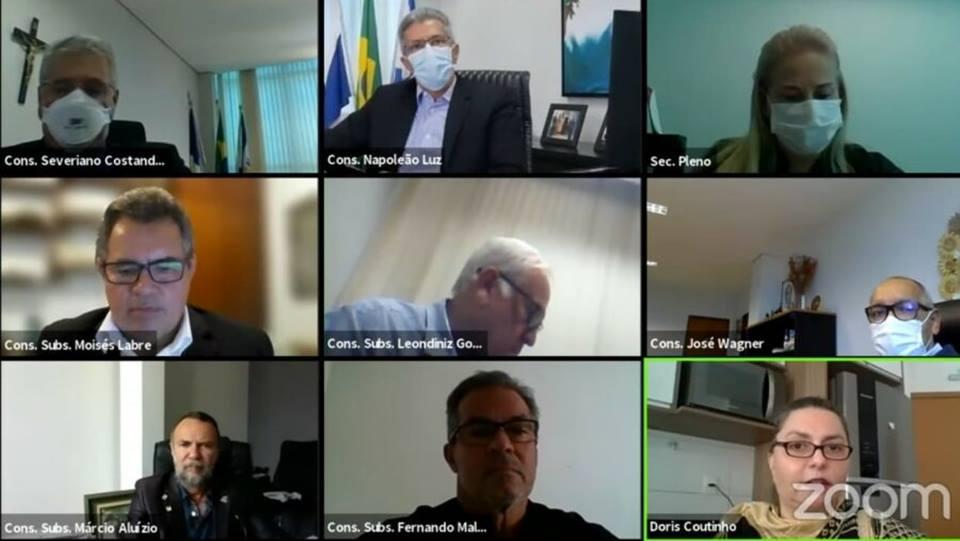 TCE determinando a suspensão de licitações de seis prefeituras do Tocantins
