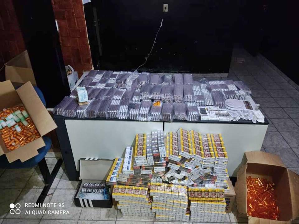 Polícia Civil apreende 52 mil comprimidos de anfetaminas