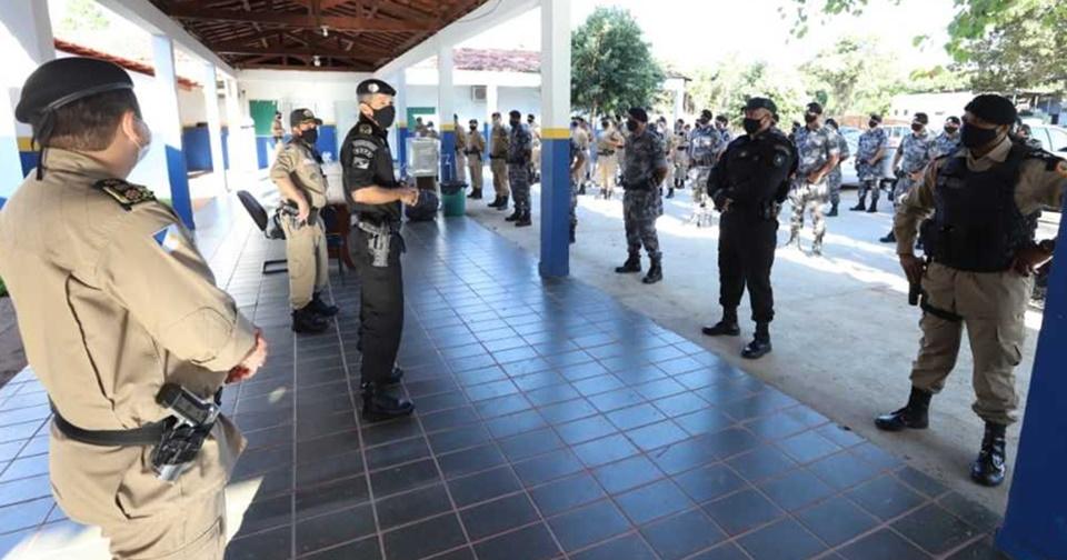 Operação Alpha mobiliza a Polícia Militar em ações de reforço à segurança em Palmas