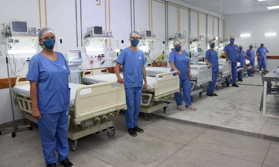 Governo do Tocantins abre mais dez leitos de UTI Covid no Hospital Regional de Porto Nacional