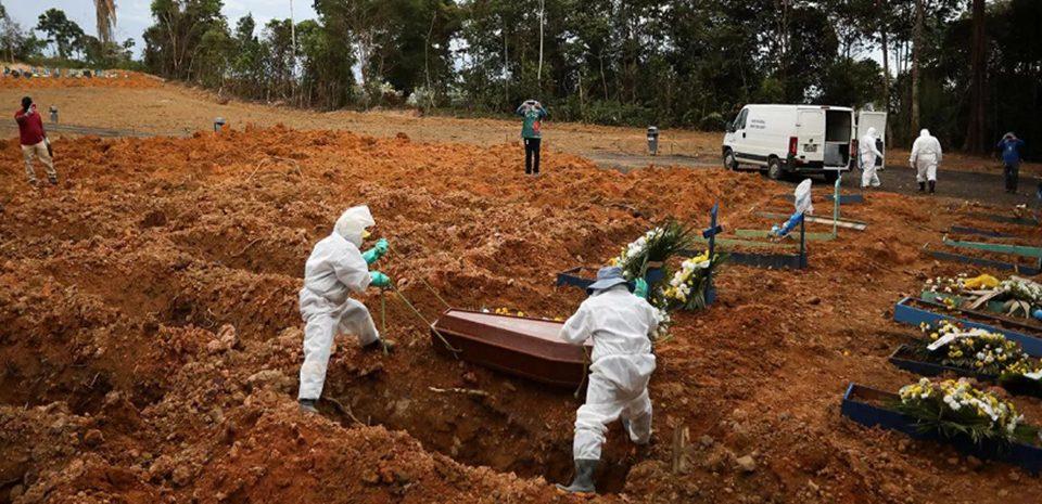 Brasil ultrapassa 480 mil mortes por Covid-19