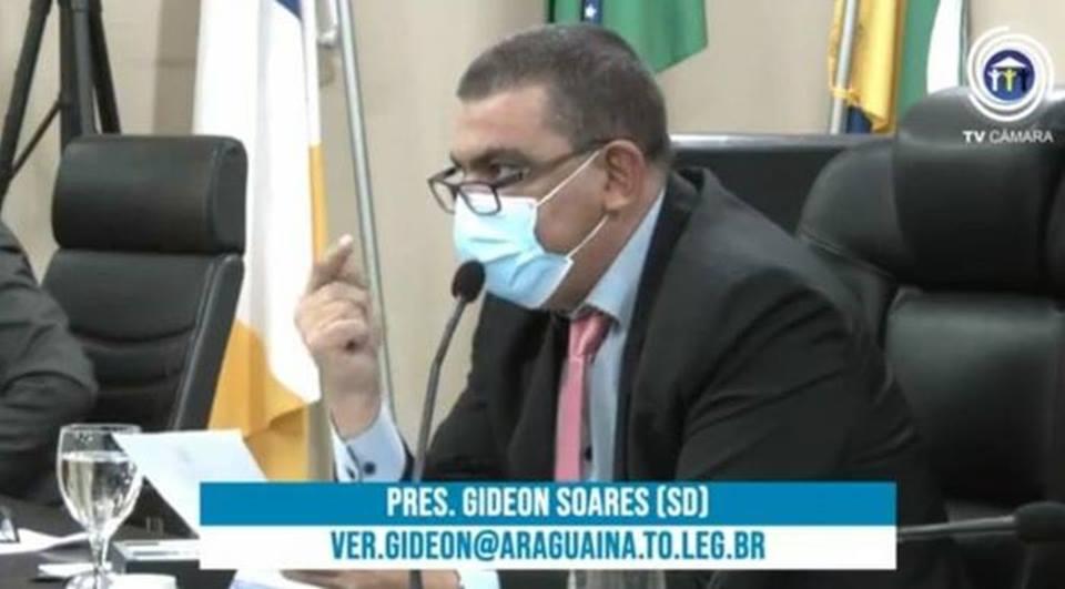 Câmara aprova requerimento do vereador Gideon Soares, que solicita a adesão do Município à REDESIM