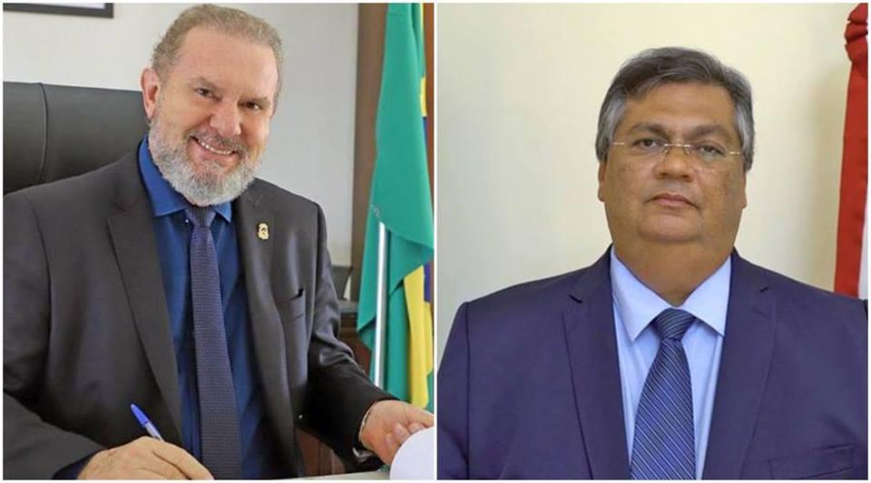 Governadores Mauro Carlesse e Flávio Dino firmam Termo de Acordo para viabilizar ponte entre Filadélfia-TO e Carolina-MA