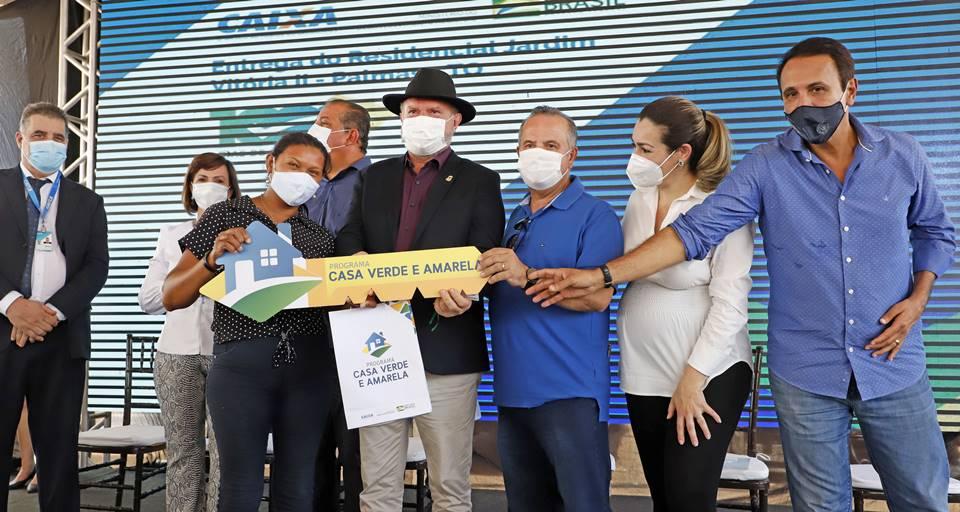 Governador Carlesse projeta apresentar ao ministro Rogério Marinho proposta para construção de 10 mil casas populares no Tocantins
