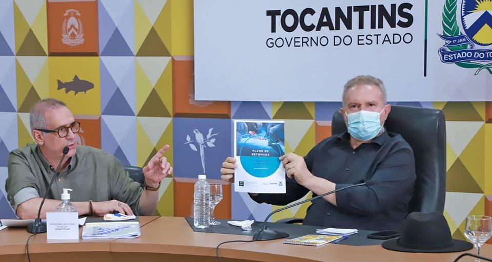 Governador Carlesse recebe plano de retomada das cirurgias eletivas e discute ações estratégicas com diretores de hospitais