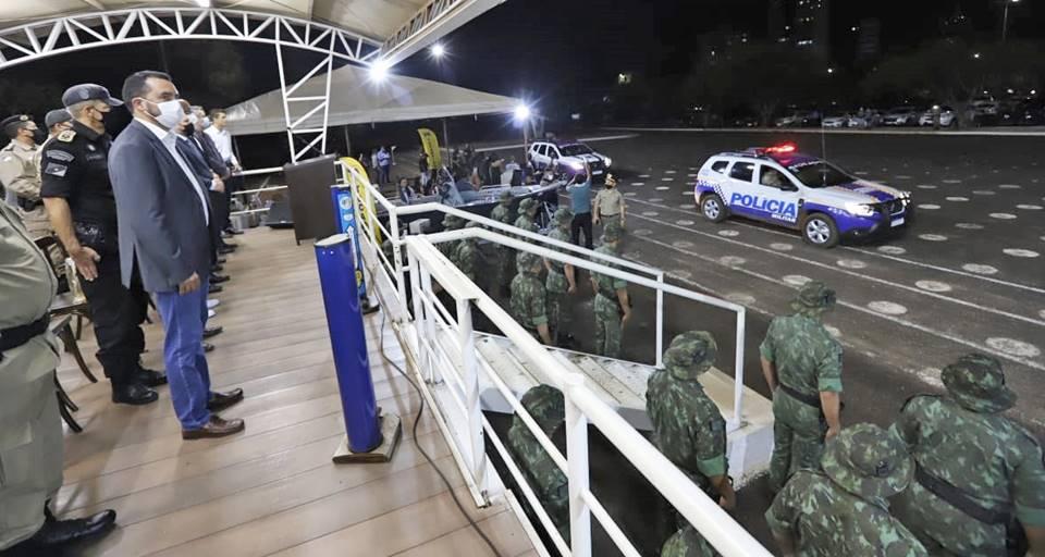 Vice-governador Wanderlei Barbosa participa da formatura do 4º Curso de Policiamento Ambiental da Polícia Militar