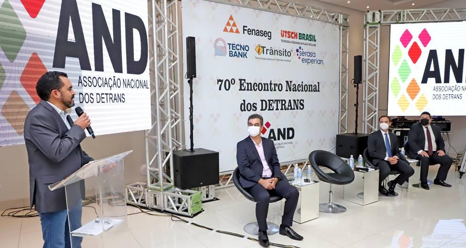 Vice-governador Wanderlei Barbosa abre 70° Encontro Nacional dos Detrans