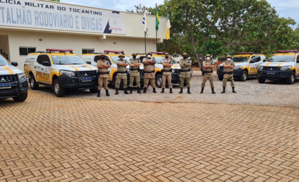 Batalhão de Polícia Militar Rodoviário e Divisas recebe sete novas viaturas do Governo Estadual