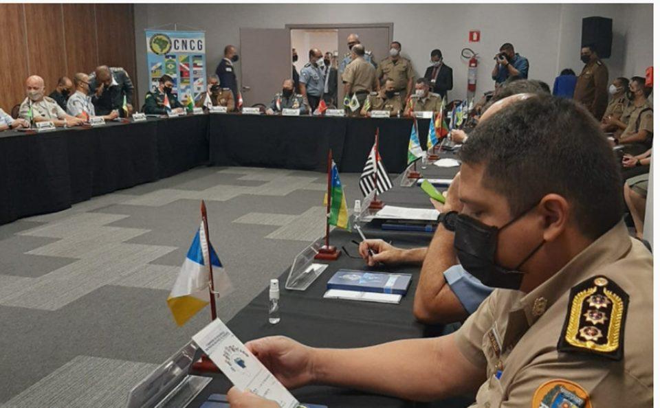 Chefe do Estado Maior da PMTO participa de encontro do CNCG em Brasília