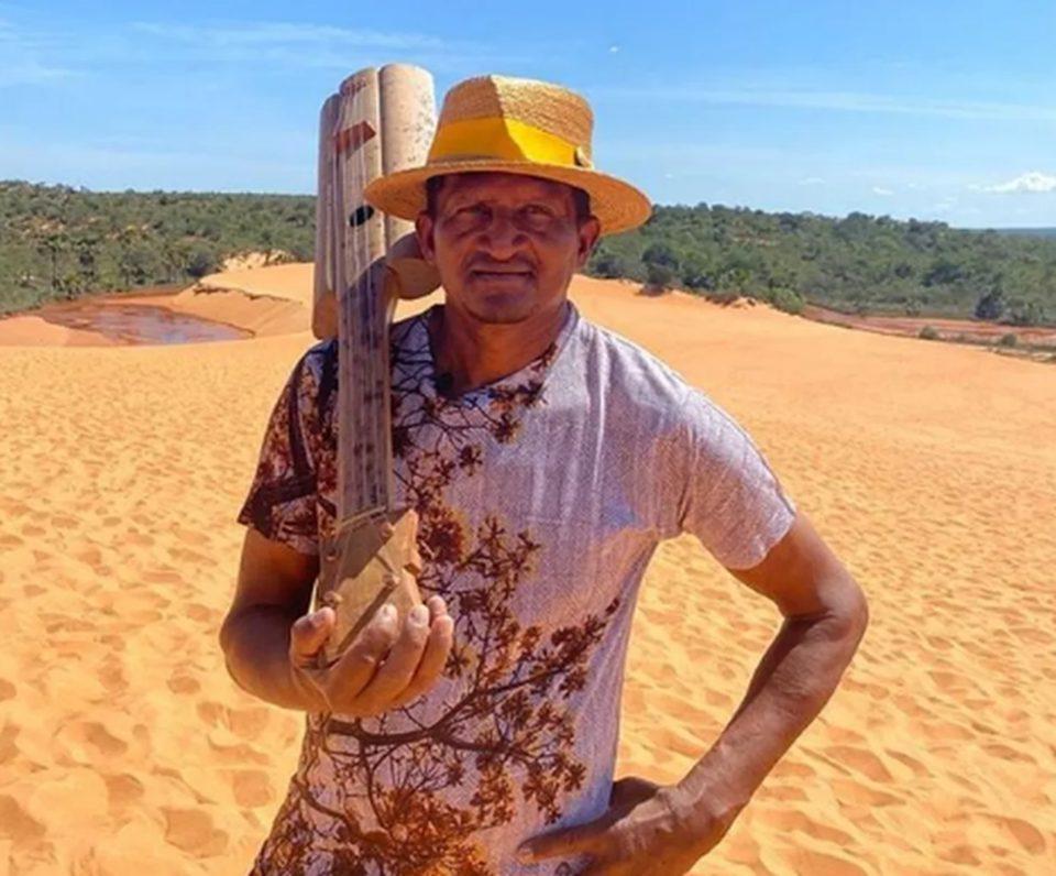 Artista do Jalapão, conhecido por fabricar e tocar viola de buriti, morre vítima da Covid