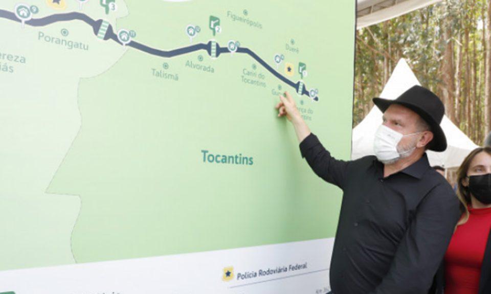 Governador Carlesse destaca que concessão da BR-153 trará mais segurança no tráfego e desenvolvimento para o Tocantins